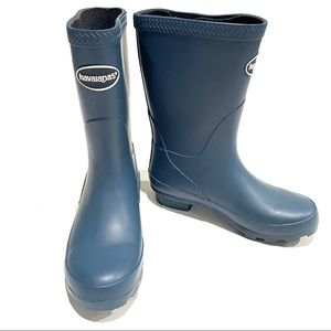 Havaianas Misty Blue Rubber Rain Boots